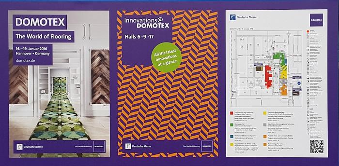 Международная выставка напольных покрытий DOMOTEX